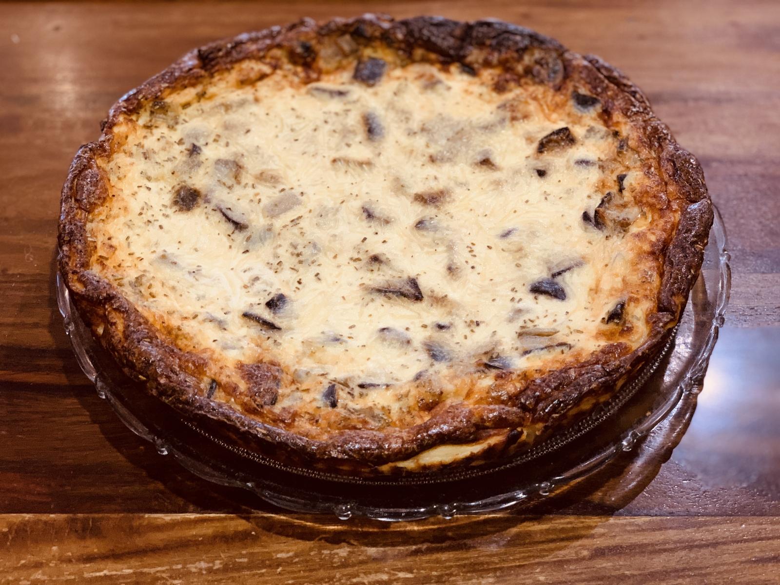 Tarte Aubergines Parmesan