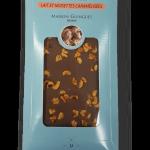 Tablette chocolats noisettes lait