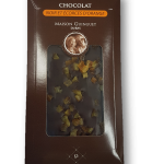Tablette Chocolat orange noir