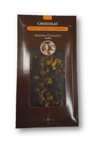 Tablette Chocolat orange noir